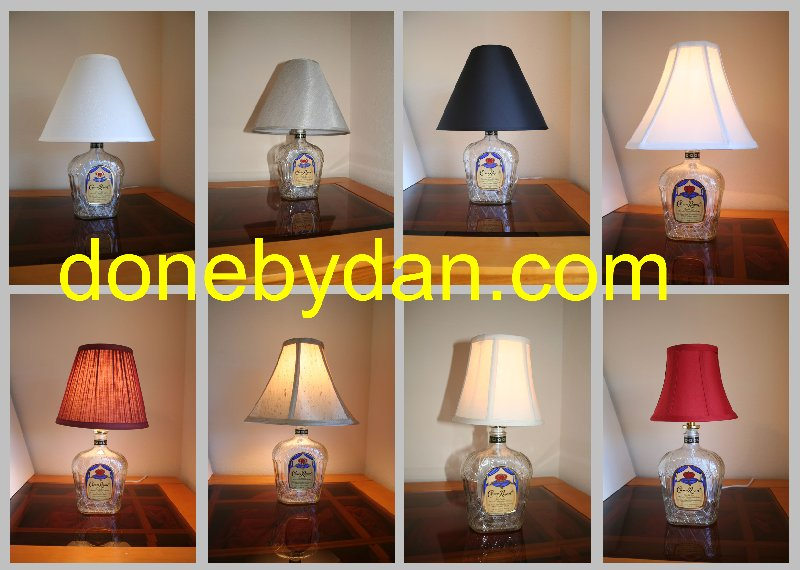 Crown Royal Lamp (small)