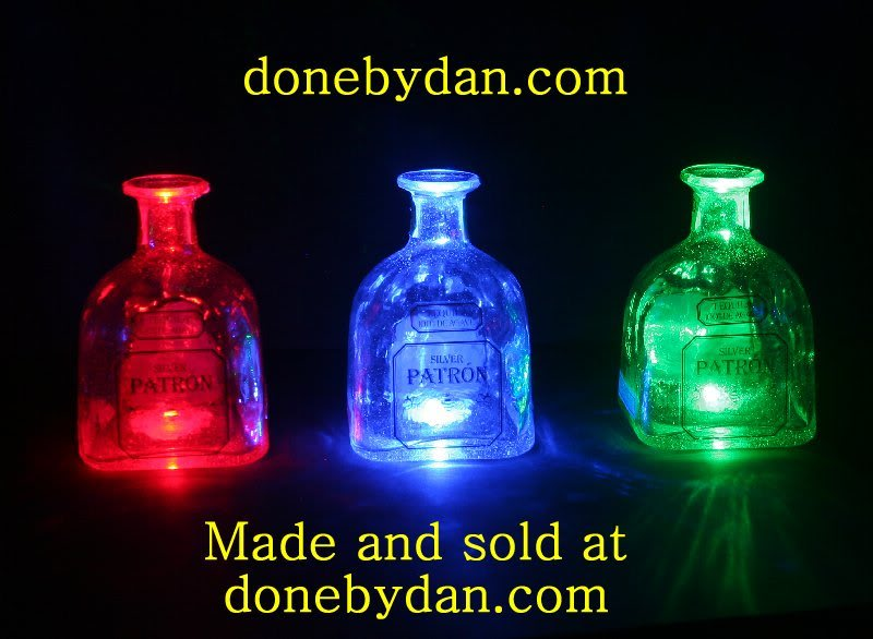 Patron LED Bottles